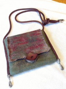 Andie's felted purse